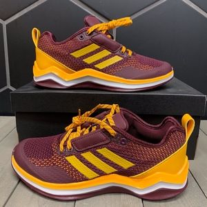 New Adidas Speed Trainer 3.0 ASU Baseball Cleats
